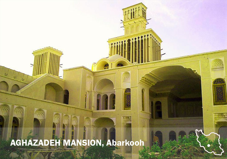 Aghzadeh Mansion, Abarkooh