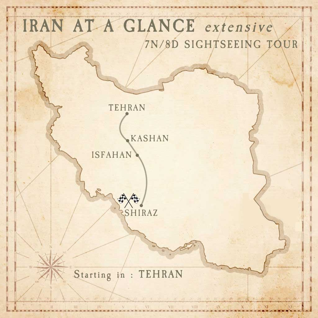 TM210801 : Iran at a Glance (extensive) [8Days]