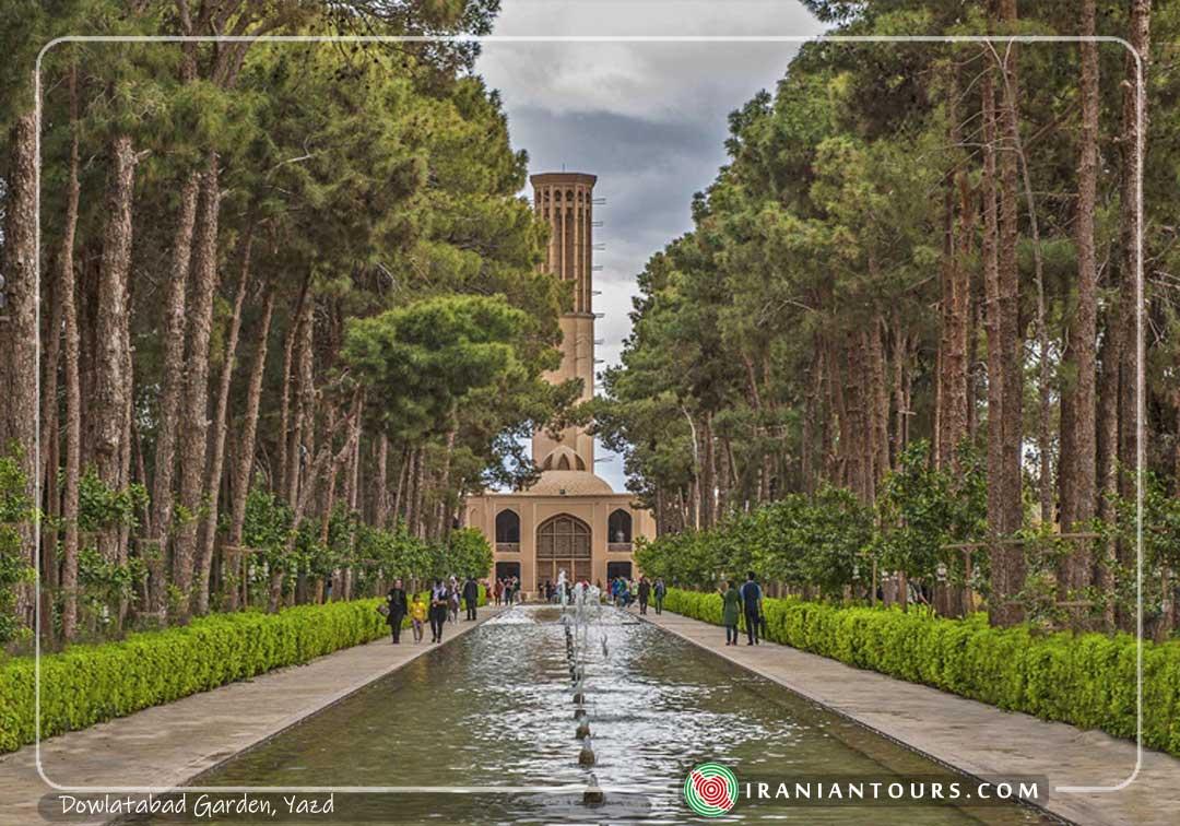 Dowlatabad Garden, Yazd