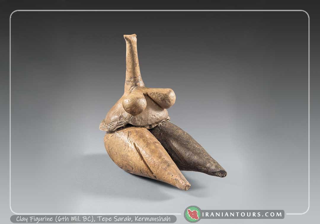 Clay Figurine (6th Mil. BC), Tepe Sarab