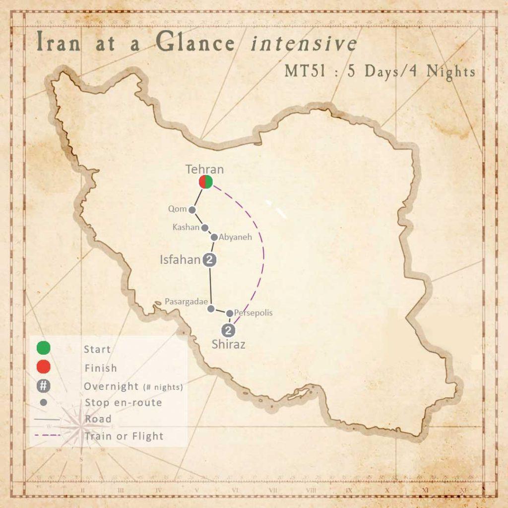 MT51 : Iran at a Glance Tour