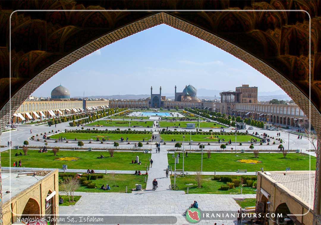 Naghsh-e-Jahan, Isfahan