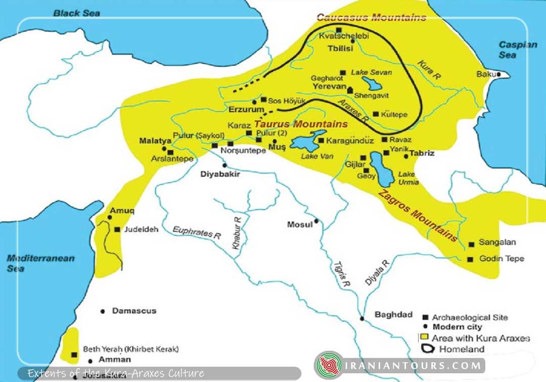 Extent of the Kura-Araxes Culture