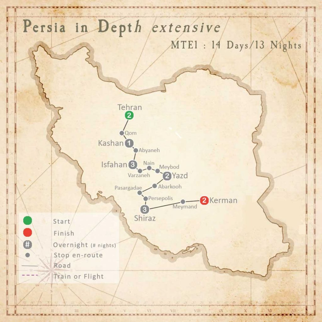 MTE1 Tour: Persia in Depth (extensive)
