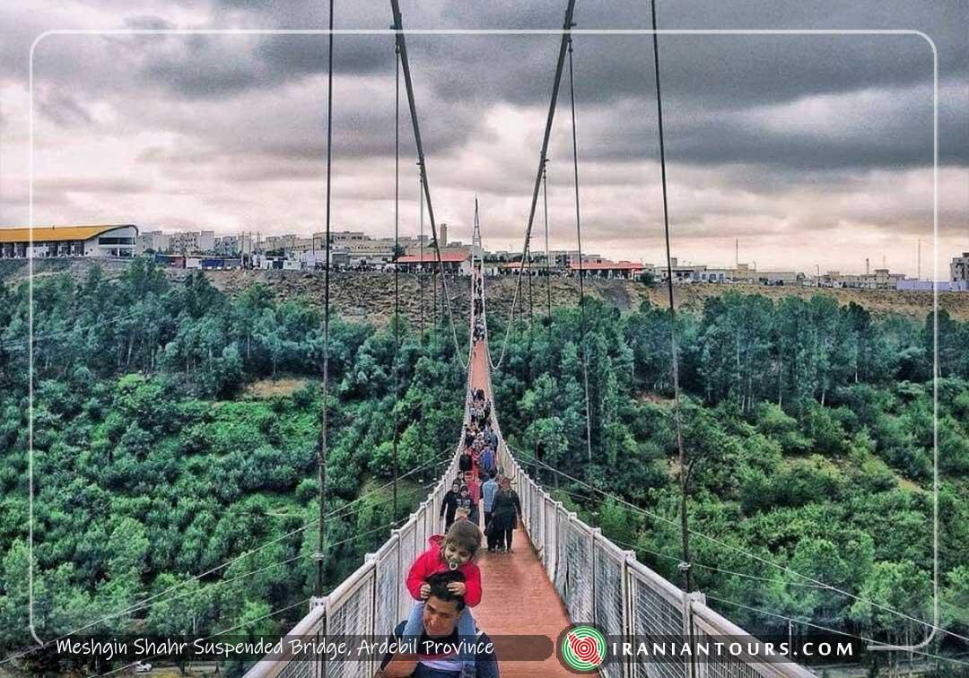 Suspended Bridge, MeshginShahr, Ardebil